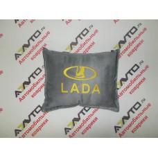 Подушка с логотипом LADA