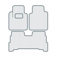 Коврики в салон для TOYOTA Land Cruiser 200 (2012-...) - Тип D