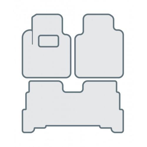 Коврики в салон для TOYOTA Land Cruiser 200 (2012-...) - Тип C