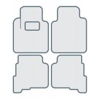 Коврики в салон для JAGUAR XF II '2015-... - Тип D