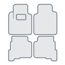 Коврики в салон для MERCEDES BENZ C class W204 - Тип A