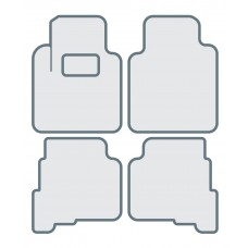 Коврики в салон для HONDA Accord (1999-2003) - Тип A