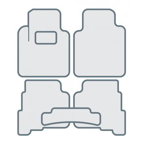 Коврики в салон для TOYOTA C-HR - Тип C